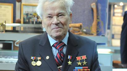 Inventor of AK-47 rifle Mikhail Kalashnikov dies at 94