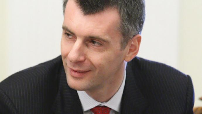 I am not the kind of man who tends to plunge into illusion – Mikhail Prokhorov exclusively on RT