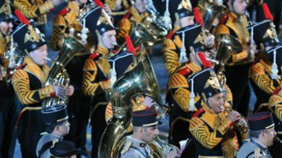 Military bands kick off Spasskaya Tower festival on Red Square (VIDEO, PHOTOS)
