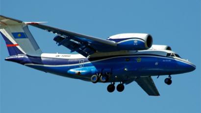 AN-24 crash-landing kills 5 in Donetsk