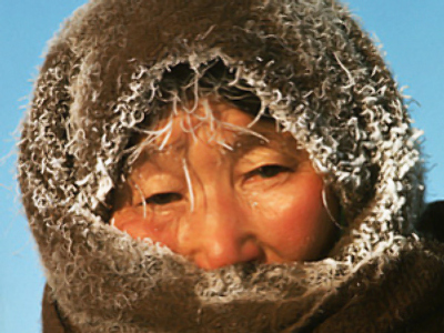 Minus 70 degree frost hits Yakutia
