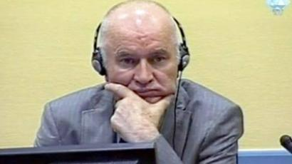 Mladic refuses to enter plea at hearing in The Hague