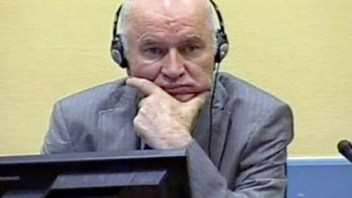 Mladic faces The Hague tribunal
