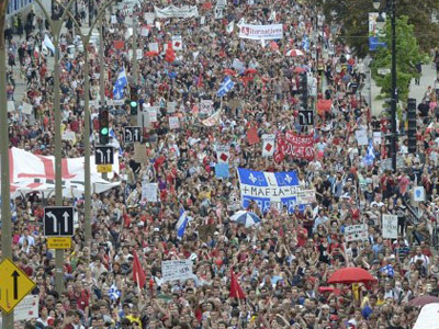 Protest or block party?  10,000 Canadians take to the streets (PHOTOS)