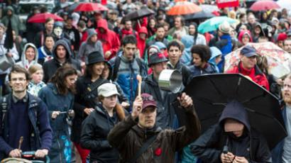 Massive student protests return to streets of Montreal (PHOTOS)