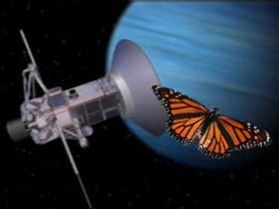 Moscow children to send butterfly to outer space (Voice of Russia)