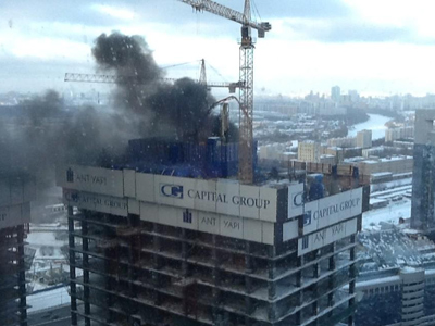 Three killed, 7 injured in Moscow fire and explosion (VIDEO)