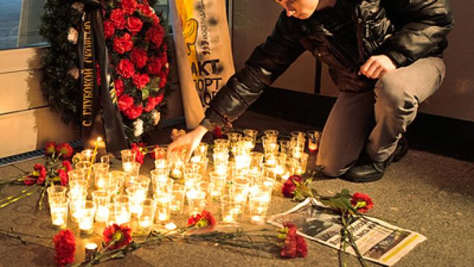 Moscow grieves for those killed in Domodedovo blast
