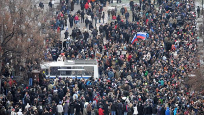 Moscow election protest: LIVE updates