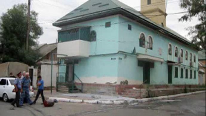 Bombing follows shooting at southern Russia mosque
