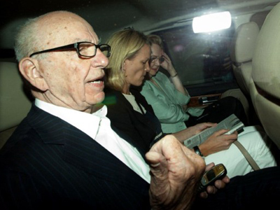 Murdoch waves white flag