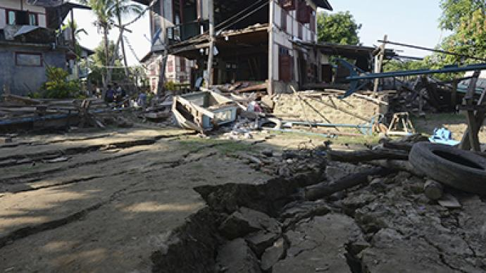 6.8-magnitude quake rocks northern Myanmar, 12 feared dead