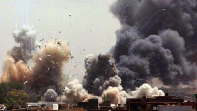 NATO: Gaddafi is legitimate target