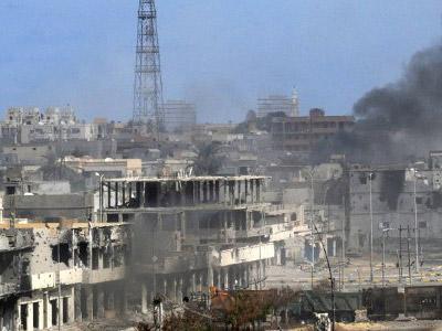 Civilian cost of NATO victory in Libya