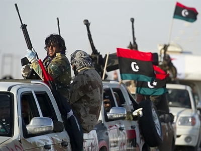 Oil war on fields of Libya