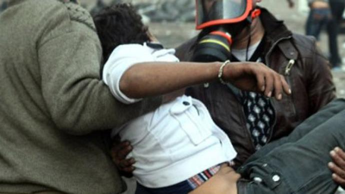 Banned neuro-toxic nerve gas 'poisons' Tahrir