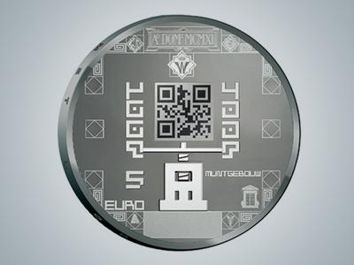 Netherlands mint scannable coins