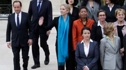 Hollande's left-hand woman: President appoints first ever female head of security