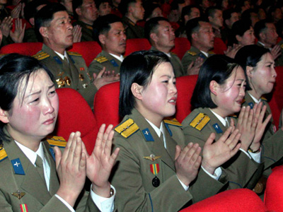 North Korea: People punished for not playing crying game