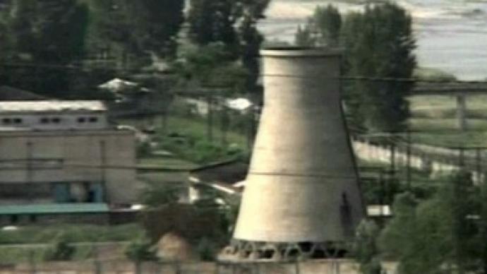 North Korea resumes reactor construction