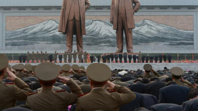 N. Korea complains 'US, South terrorist plot' to blow up Kim monument