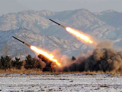 S. Korea threatens to gun down North's rocket