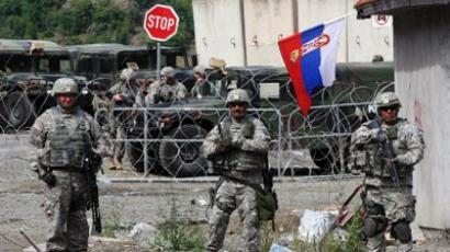 EU, Kosovo take over disputed Serbian border checkpoints