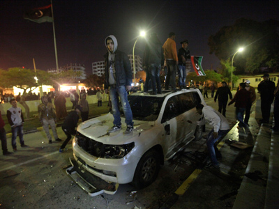Libyans reject 'hijacked' revolution?