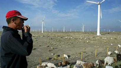 China blowback: Chinese co. sues Obama over 'state security' wind farm ban