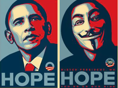 Obama 'Change' poster artist infuriates gun advocates with his new work