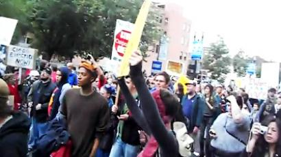 'RT was the only media outlet covering OWS protests'
