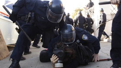 US 'unreasonably cruel' in OWS crackdown