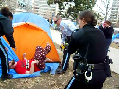 Occupy unmoved: Washington protesters to defy evictions