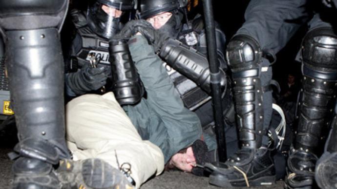 Occupational hazard: Brutal arrests in Re-Occupy Portland