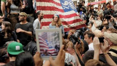 'Wall Street protesters know real power not in Washington DC'