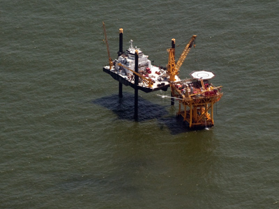 At least 2 dead in offshore oil rig fire in the Gulf of Mexico