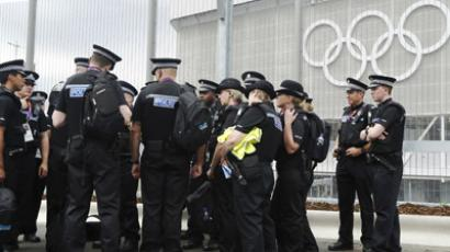 Olympic fan arrested for throwing bottle at Bolt