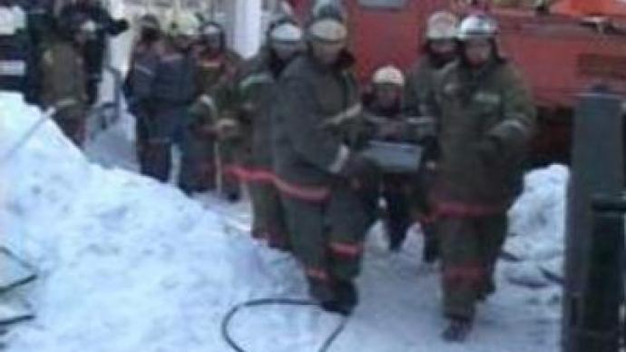 One dies, one rescued after foodstore collapse in Nizhniy Novgorod