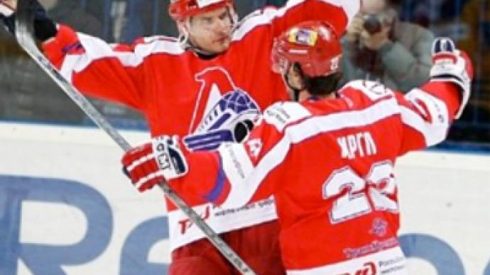 One step hedges Lokomotiv off KHL finals