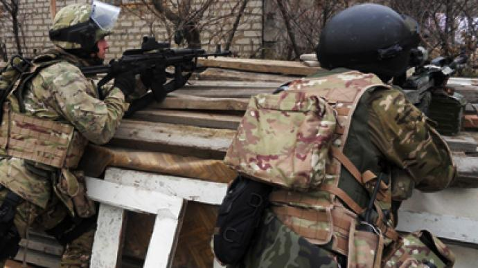 Two militants killed in special operation