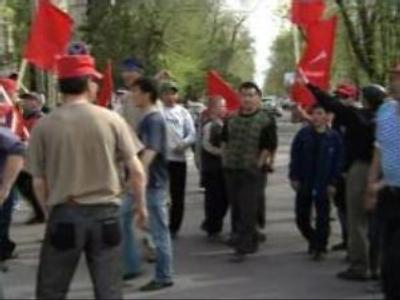 Opposition rally in Kyrgyz capital continues