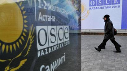 Russia's proposal a wake-up call to revamp security plan – OSCE head