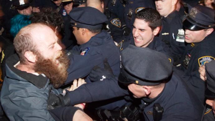 NYC cops attack OWS protesters