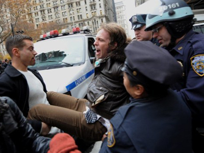 NYPD blast LRAD sound cannons at OWS