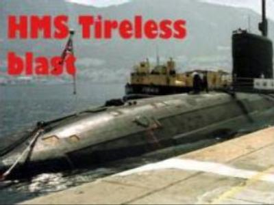 Oxygen generator blamed for HMS Tireless blast
