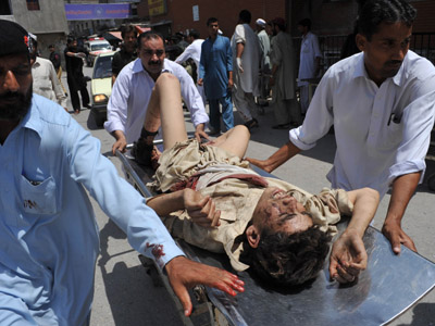 At least 29 killed in series of blasts in Pakistan (PHOTOS)