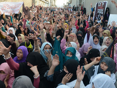 Mass Shiite protests sweep Pakistan after deadly bombing claims 81 lives