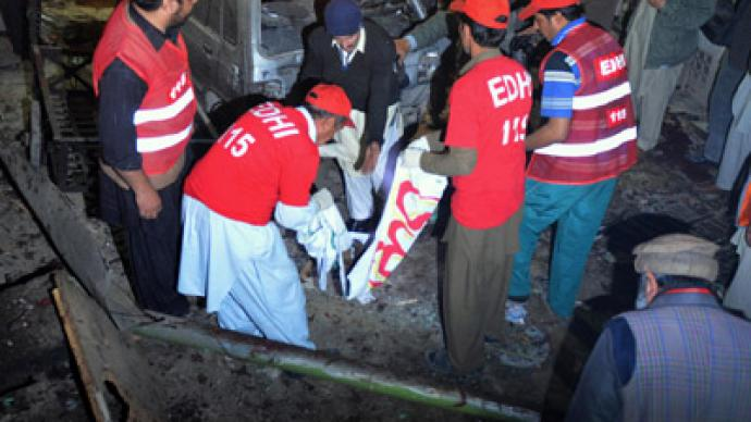 At least 9 dead, scores injured in Pakistan suicide bombing
