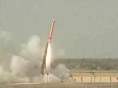 Pakistan tests radar-invisible cruise missile