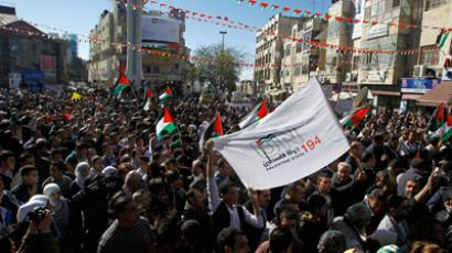 West Bank's Fatah party stages first mass rally in Gaza in 5 years
